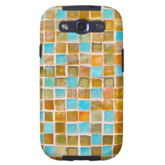 colorful tiles galaxy s3 covers