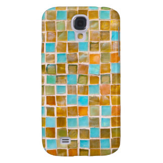 colorful tiles samsung galaxy s4 cover