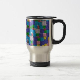 Colorful Tiles Travel Mug