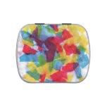 Colorful Tissue Candy Tins