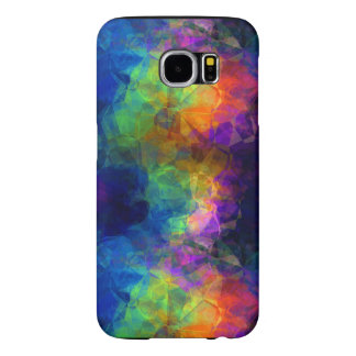 Colorful Tissue Paper Collage Samsung Galaxy S6 Case