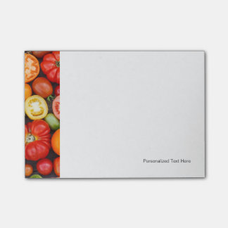Colorful Tomatoes Post-it Notes