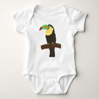 Colorful Toucan Bird Painting Shirt