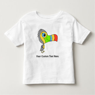 Colorful Toucan Bird. Toddler T-shirt