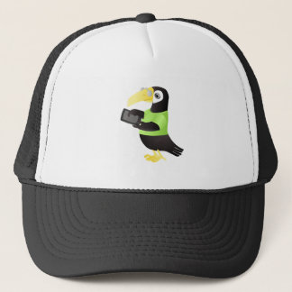 Colorful Toucan Parrots in green red yellow Trucker Hat