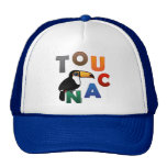 Colorful Toucan Trucker Hat
