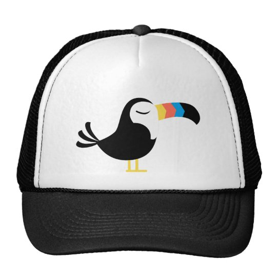 Colorful Toucan Trucker Hat