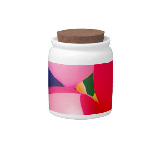 Colorful Toy Balloons Candy Jars