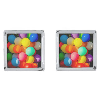 Colorful Toy Balloons Cufflinks
