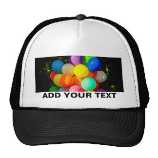 Colorful Toy Balloons Trucker Hat