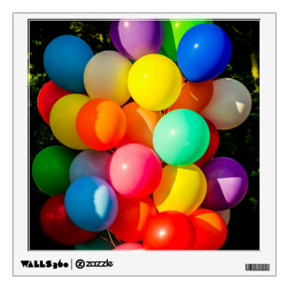 Colorful Toy Balloons Wall Decal