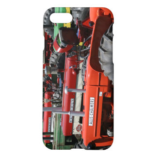 Colorful Tractors iPhone Case
