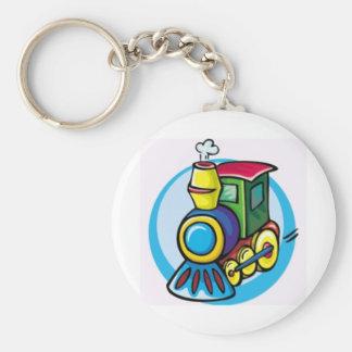 Colorful Train Keychains