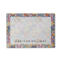 Colorful Travel Sticker Pattern Post-it Notes