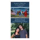Colorful Travelers Photo Christian Christmas Photo Cards