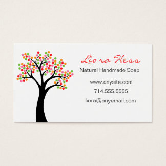 Colorful Tree Business Card