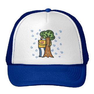 Colorful Tree Hugger Trucker Hat