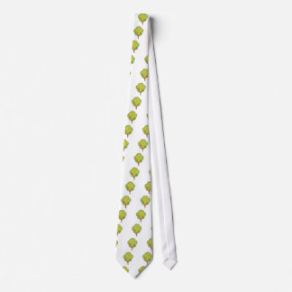 Colorful Tree Neck Tie