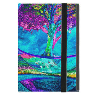 Colorful Tree of Life Artwork by Amelia Carrie in iPad Mini Case