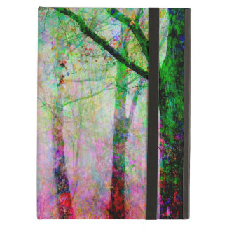 Colorful Tree Path iPad Air Cover