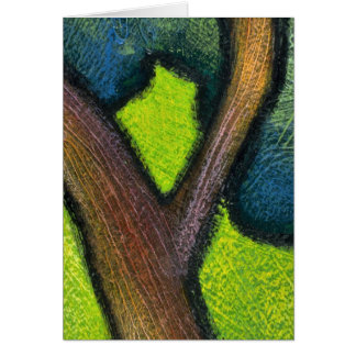 Colorful Tree Trunk Cards