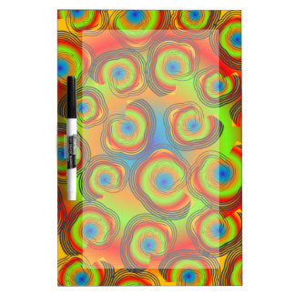 Colorful Tree Vein Pattern Dry-Erase Boards