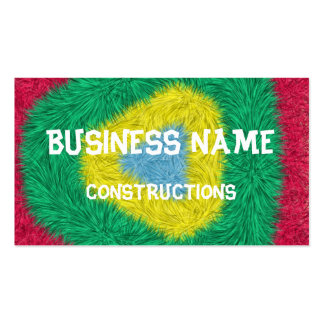 Colorful trendy art Double-Sided standard business cards (Pack of 100)