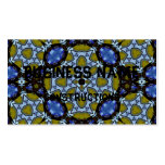 Colorful trendy pattern business cards