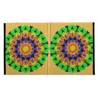 Colorful trendy pattern iPad cases