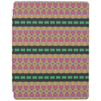 Colorful trendy pattern iPad cover