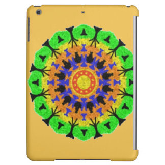 Colorful trendy pattern iPad air cases