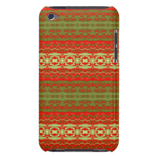 Colorful trendy pattern iPod touch cover