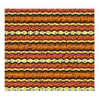 Colorful trendy pattern photo print