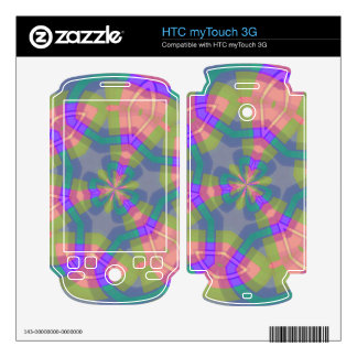 Colorful trendy pattern HTC myTouch 3G decal
