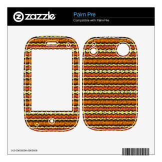 Colorful trendy pattern palm pre decals