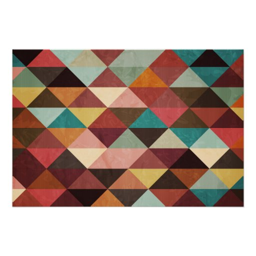 triangle colorful triangles art - photo #11