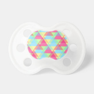 Colorful Triangle pattern Pacifier