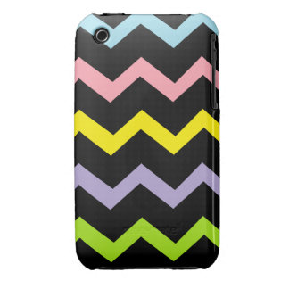 Colorful Triangle Waves iPhone 3 Cover