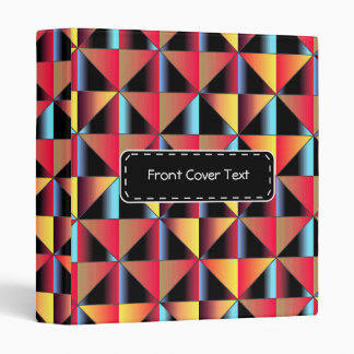 Colorful triangles binders