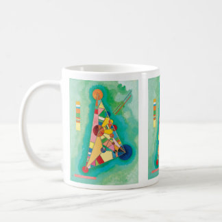 Colorful Triangles by Wassily Kandinsky Coffee Mug