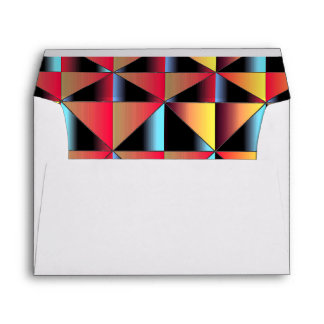 Colorful triangles envelope