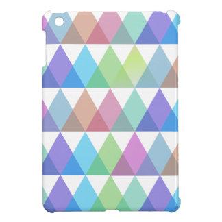 colorful triangles iPad mini case