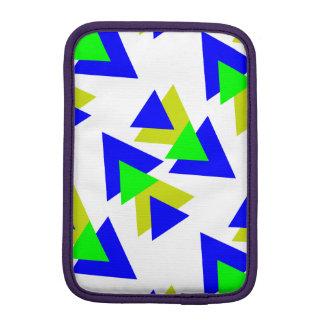Colorful triangles iPad mini sleeve