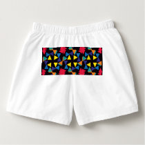 Colorful triangles pattern boxers