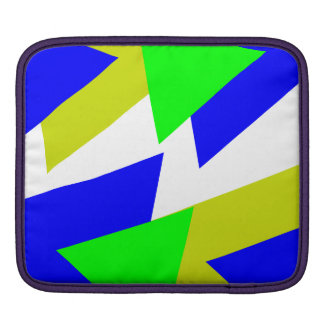 Colorful triangles sleeve for iPads