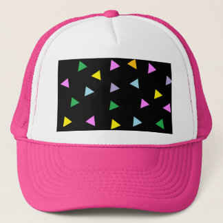 Colorful Triangles Trucker Hat
