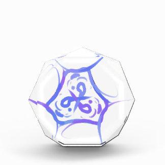 Colorful Triangular swirls Award