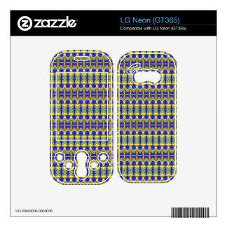Colorful tribal art skin for LG neon