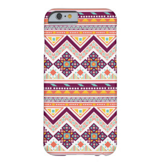 Colorful Tribal Aztec Chevron Zig Zag Pattern Barely There iPhone 6 Case