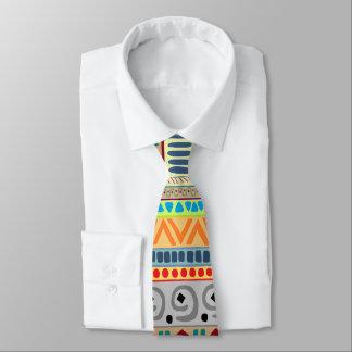 Colorful Tribal Design Tie